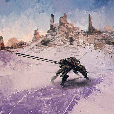 Benedick bana frost mountain bunker guard lores