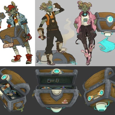 Zoe thorogood chest final and concepts