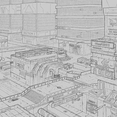 Tomasz smolka painter market sketch final 2k sign