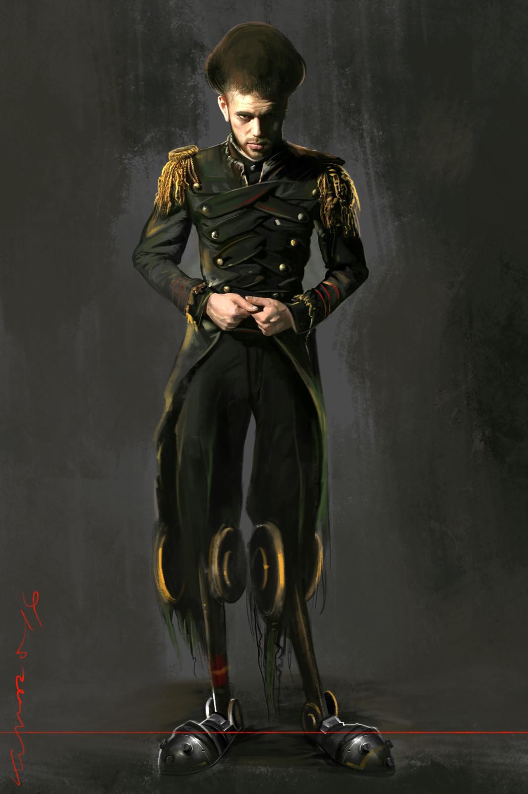 huge head army chief