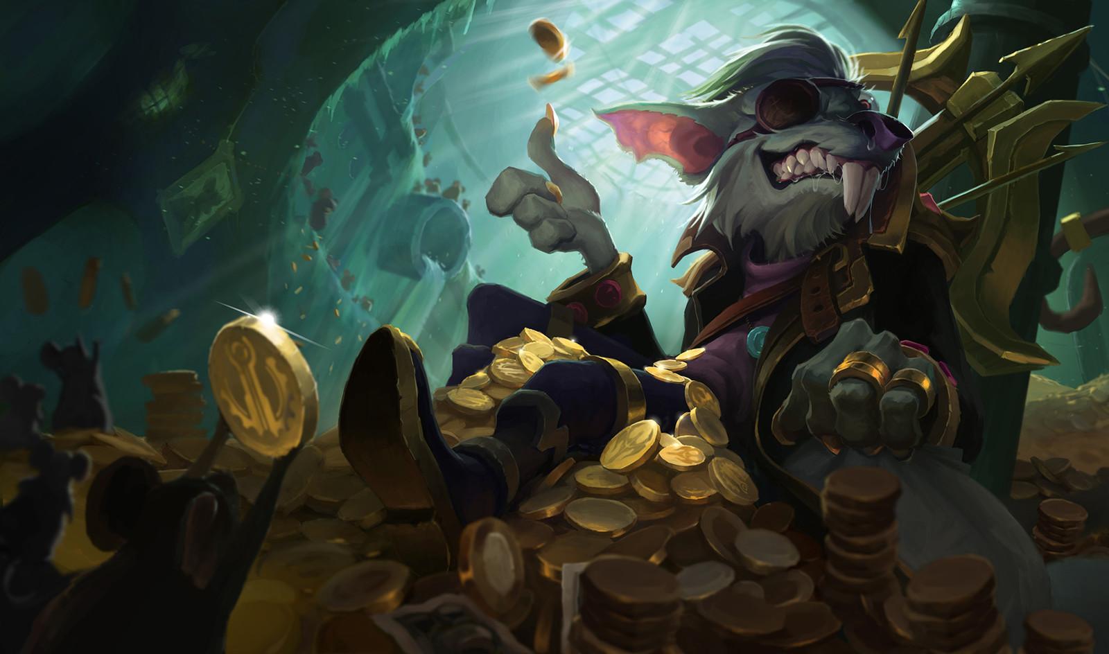 league of legends Kingpin Twitch splash art