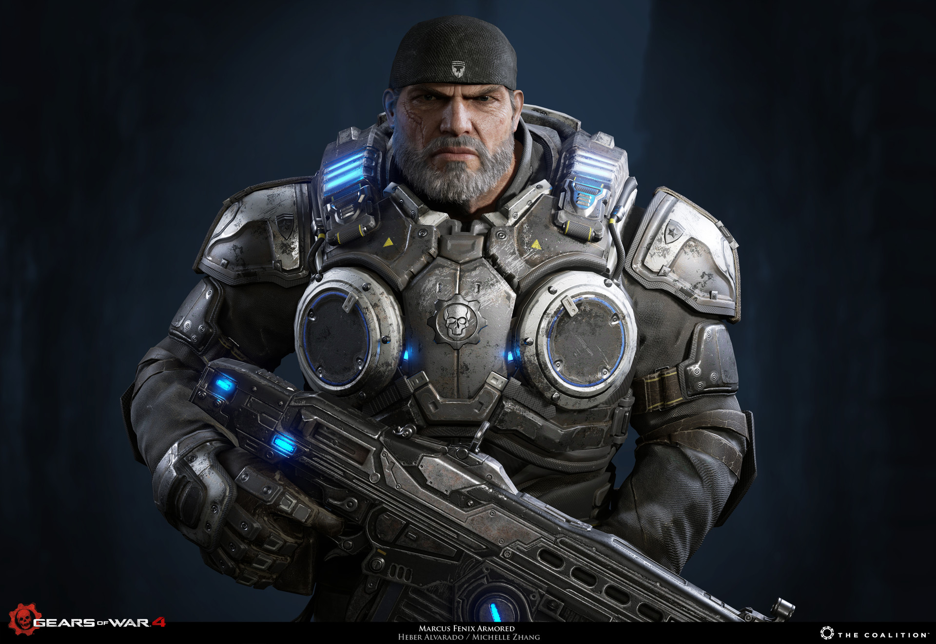 Heber Alvarado Marcus Fenix Gears Of War 4