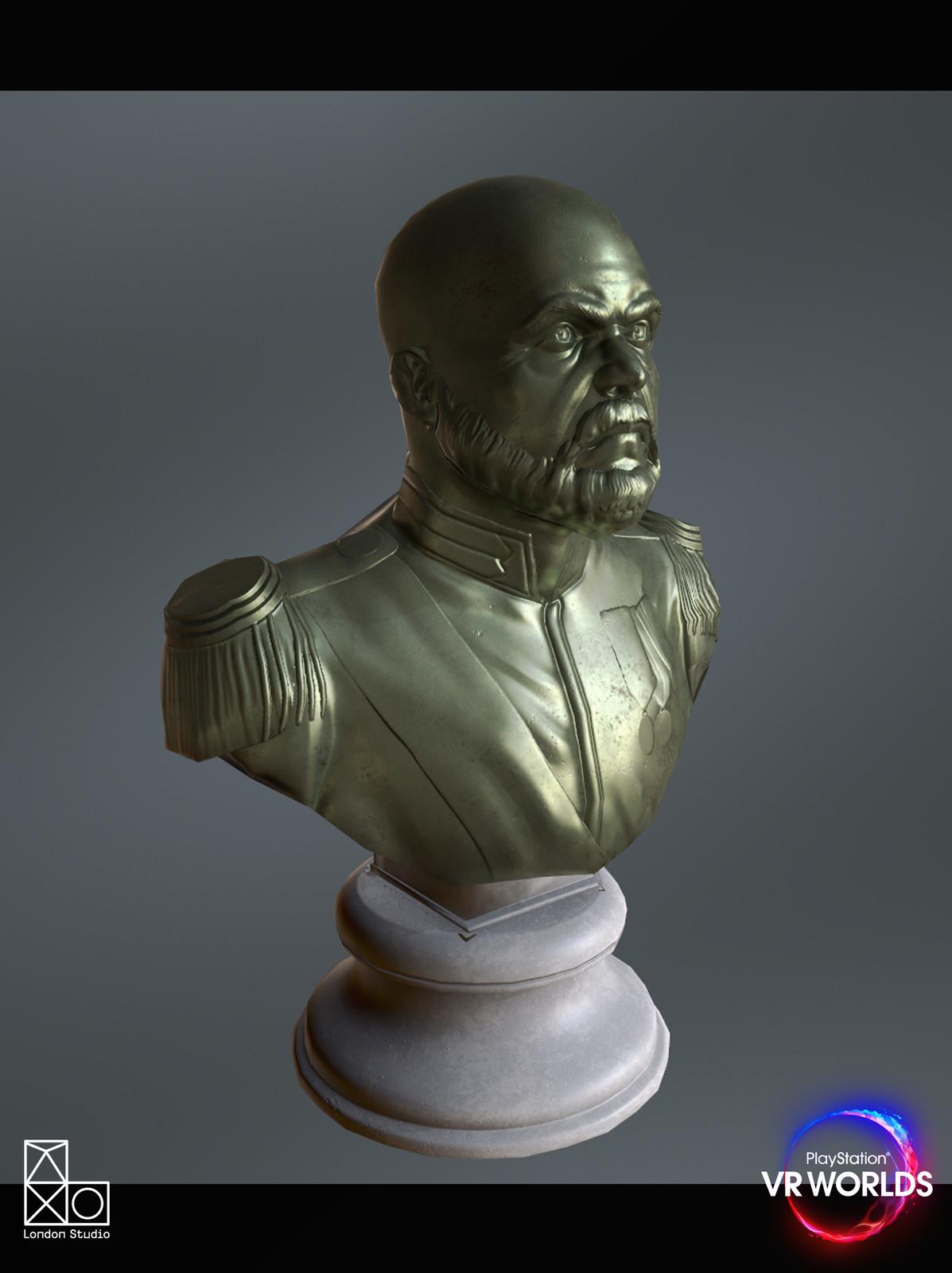Statue of Victor, London Heist