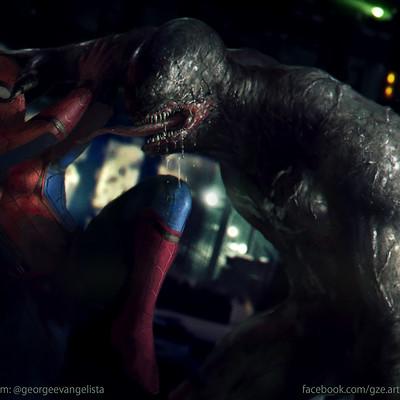 George evangelista venom vs spiderman