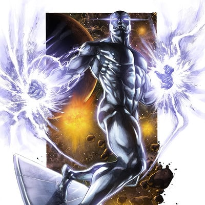 Sam delatorre ss as silver surfer