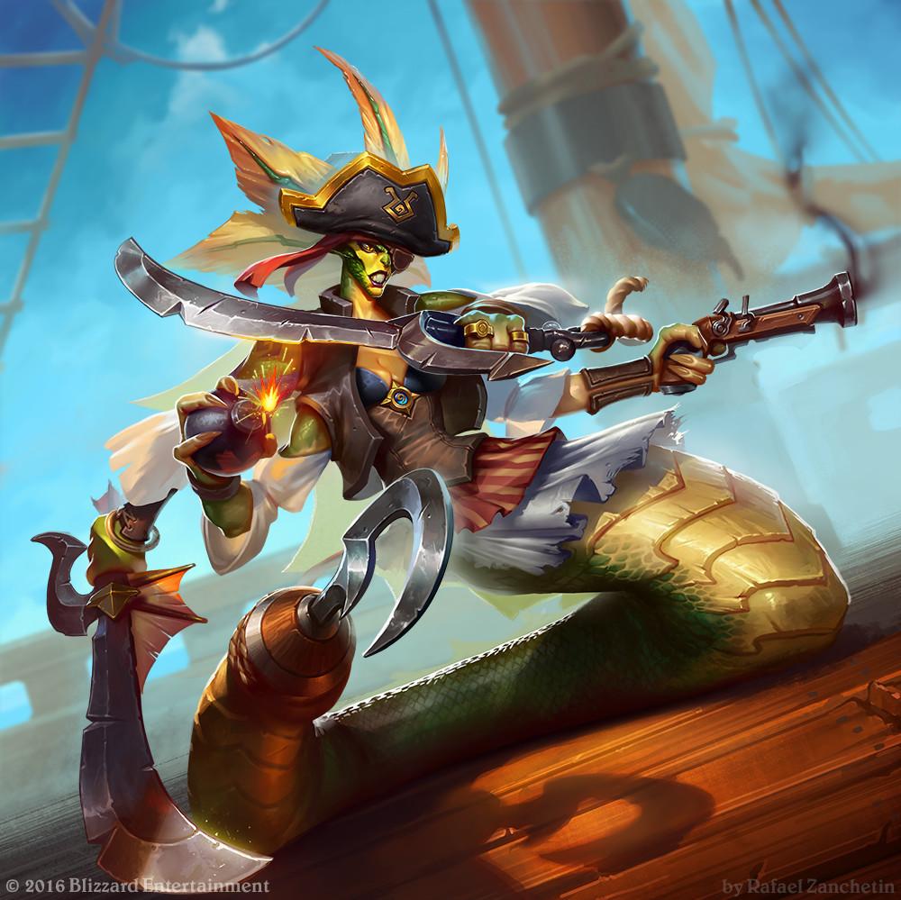 Hearthstone - Naga Corsair