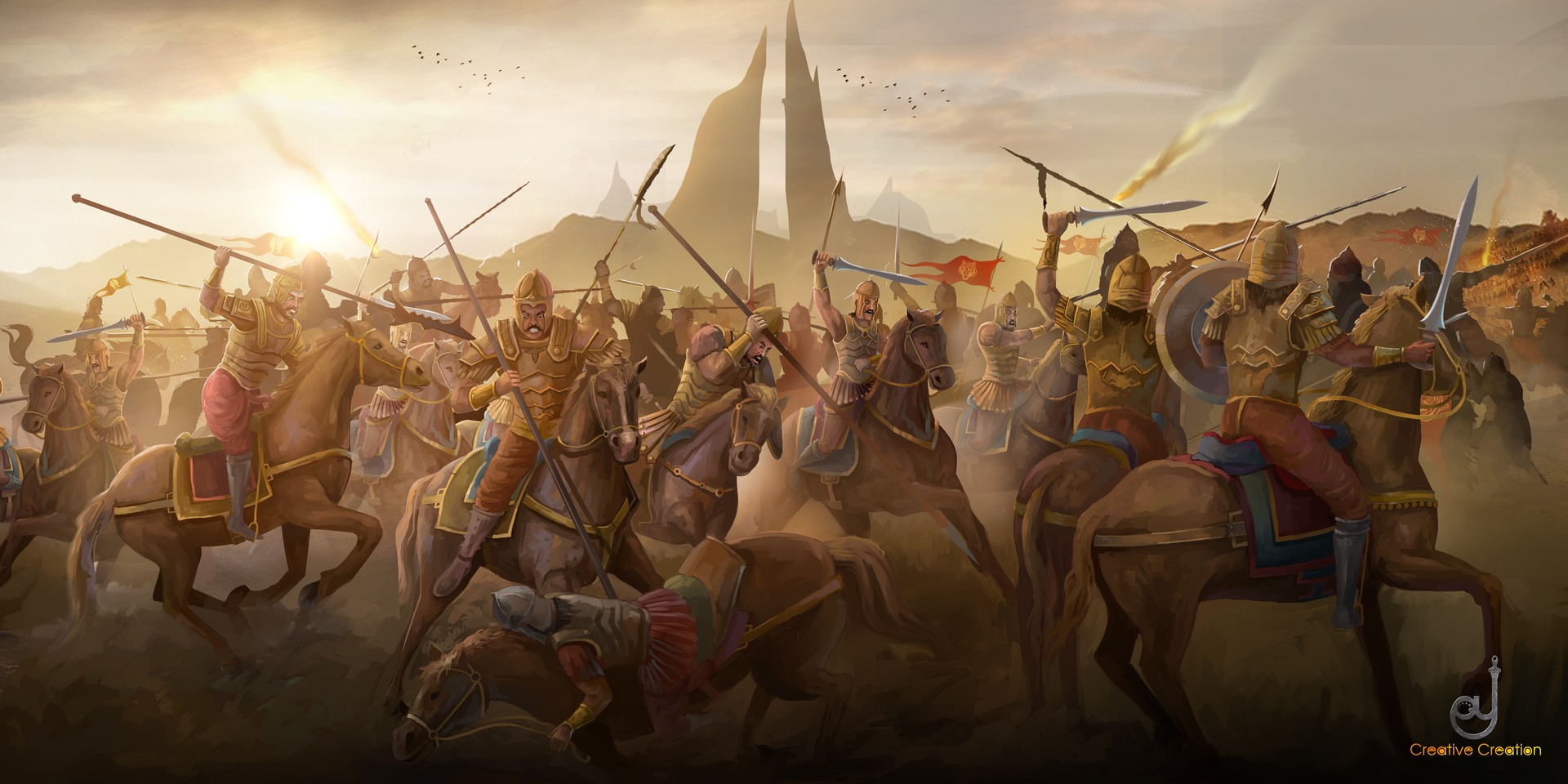 Image result for War in India kings