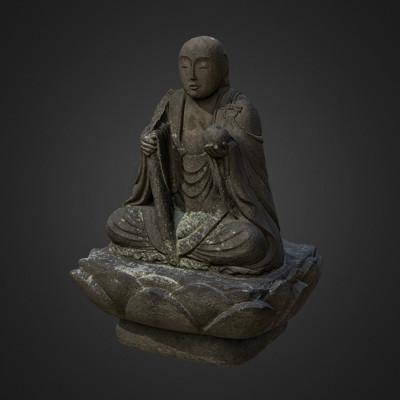 Vlx kuzmin small buddha statue