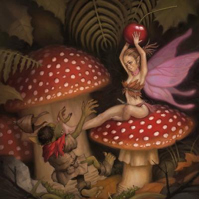 Mario vazquez mushroom fairy