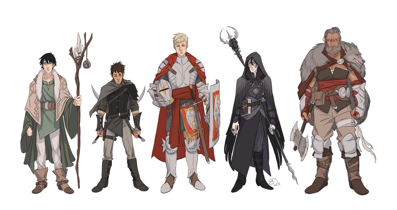 D D Character Design : Ester zejn d characters