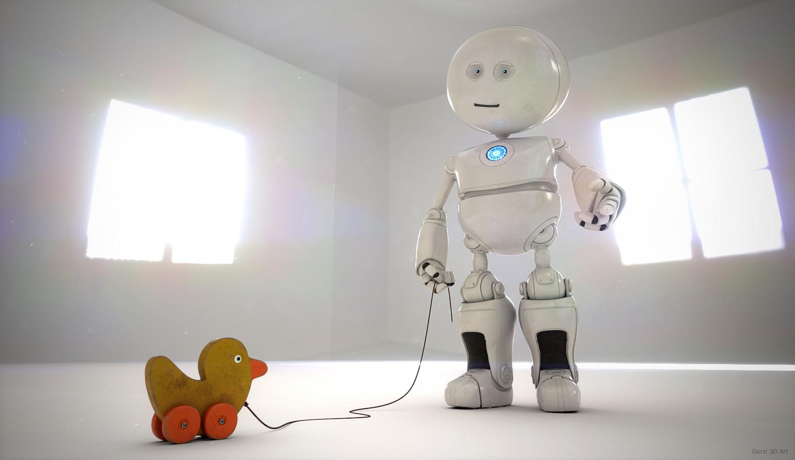 Roger gerzner little robot