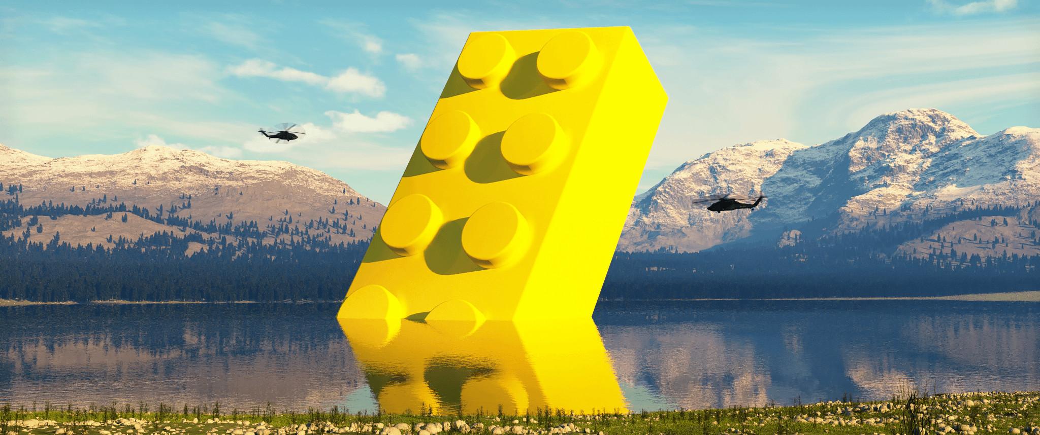 LEGO ARRIVED