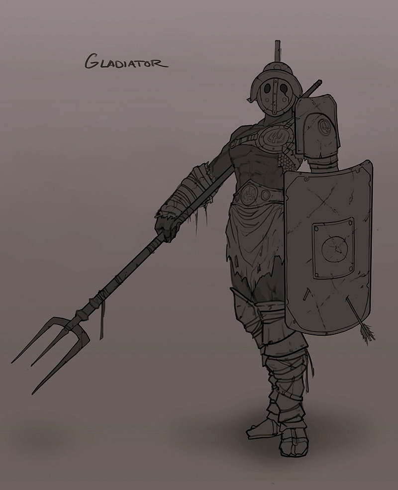 Francis brunet gladiator22