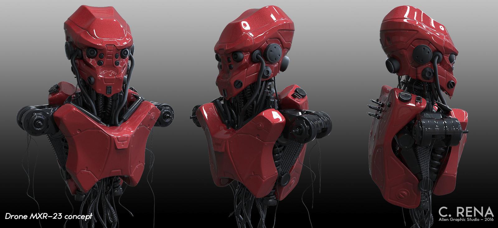 Drone MXR-23 concept