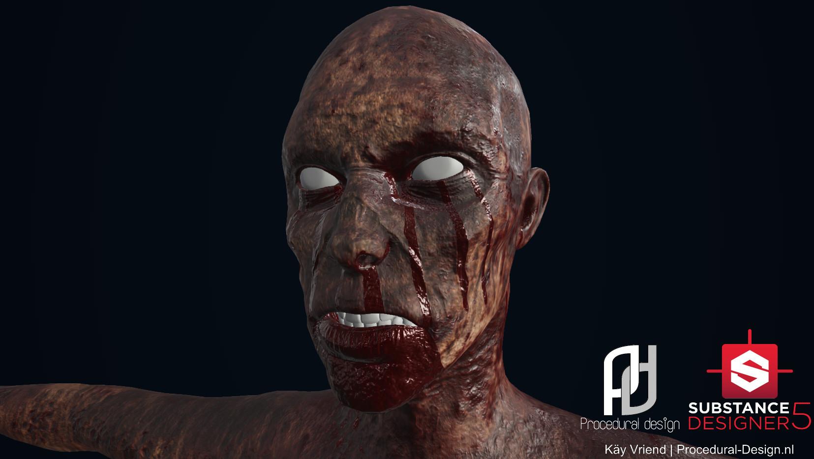 Kay vriend zombie 20