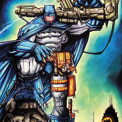 Rob duenas commission dark knight returns copics by robduenas daq6phx