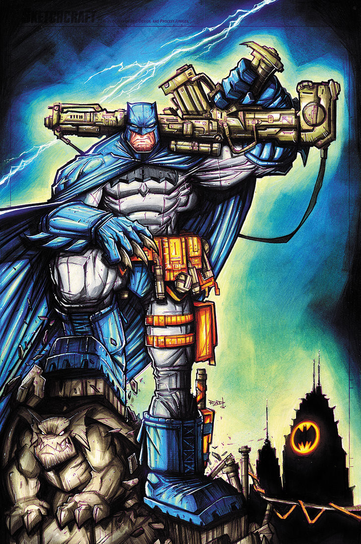 Rob duenas commission dark knight returns copics by robduenas daq6phx