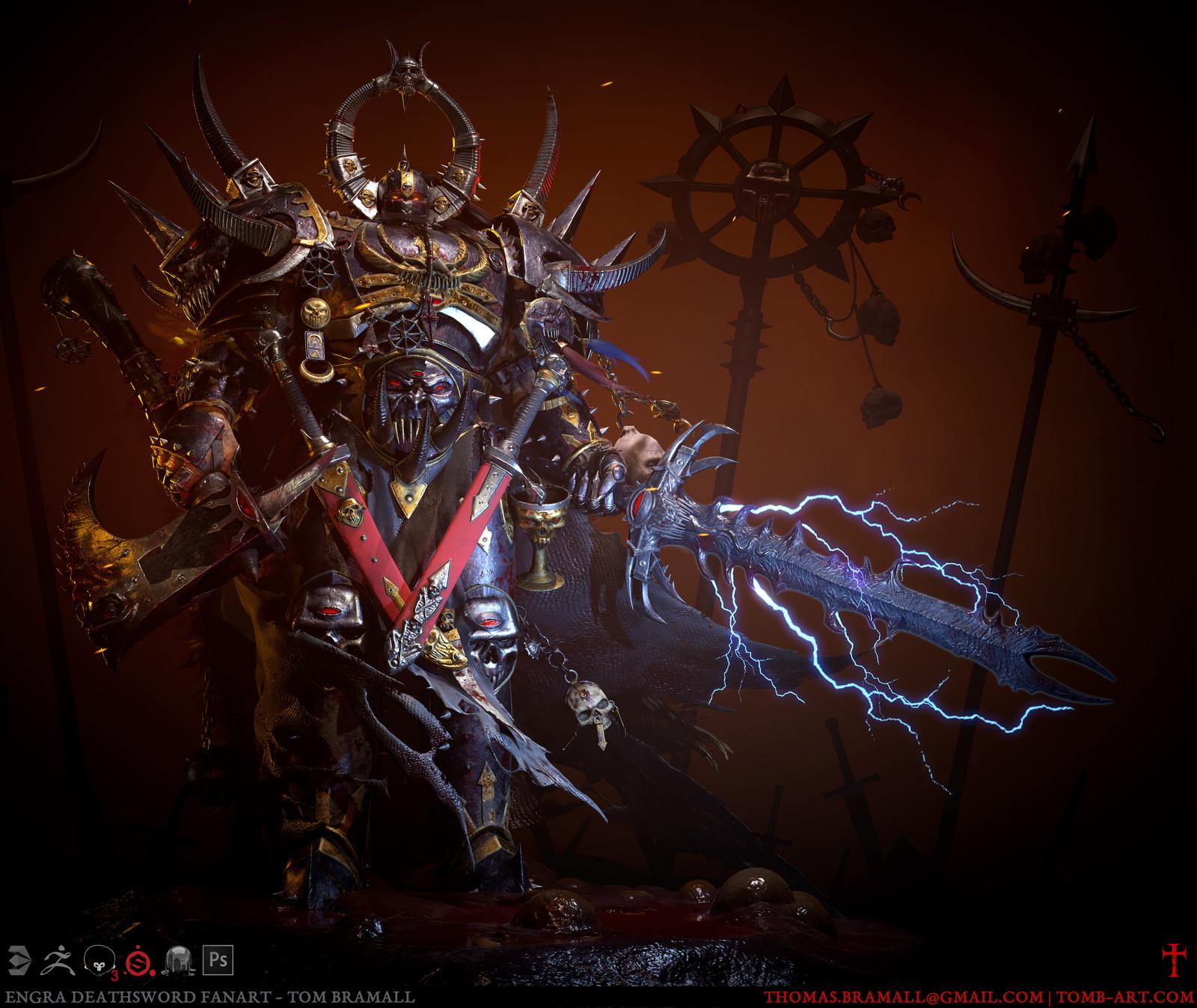 Engra Deathsword [Warhammer Fanart]
