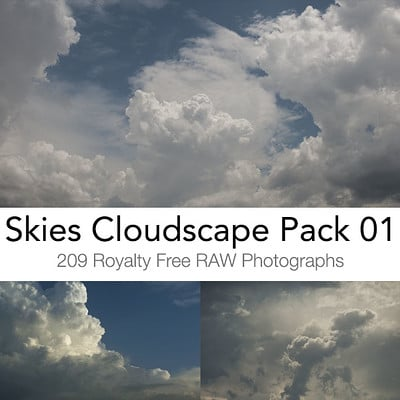 Skies Cloudscapes Pack 01