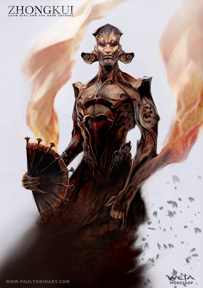 Zhongkui - Creature Form concept.