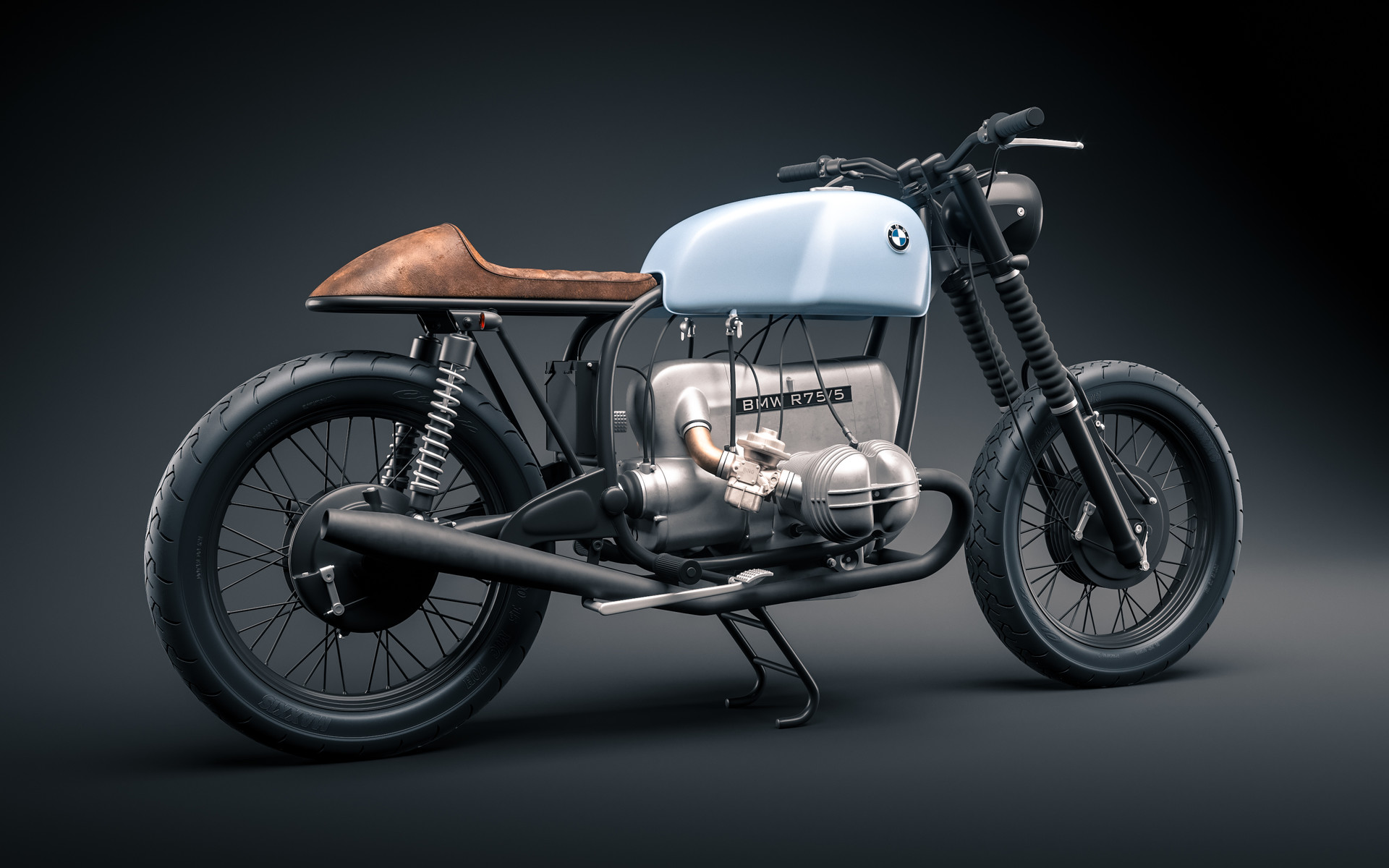 vladimir tikhonov bmw r75 5 cafe racer. Black Bedroom Furniture Sets. Home Design Ideas
