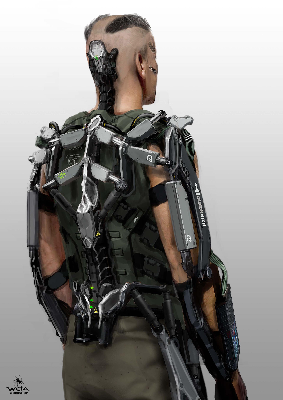 Kruger Hulc Suit Back - Artist: Aaron Beck