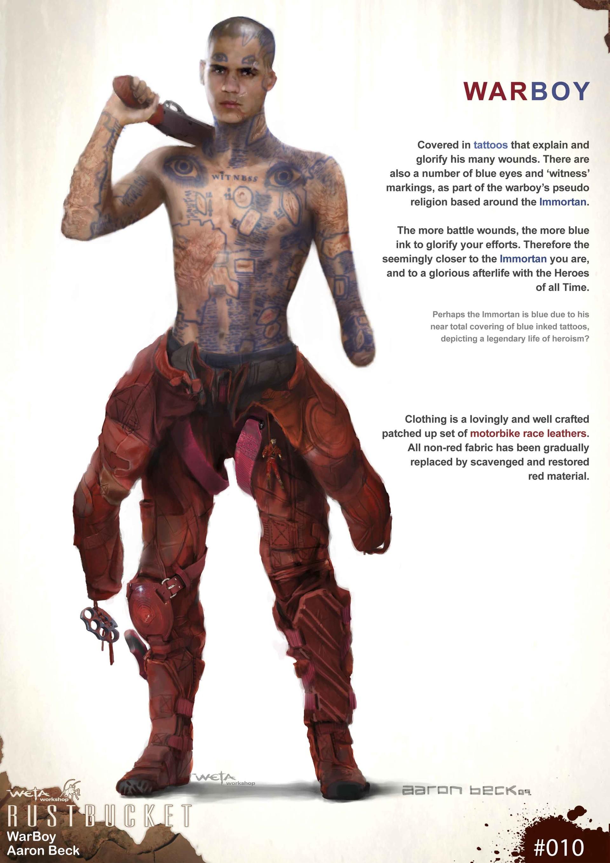 Concept Art Mad Max Artwork