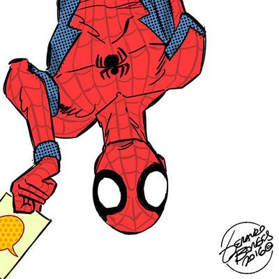 Geraldo borges spider man civil war version