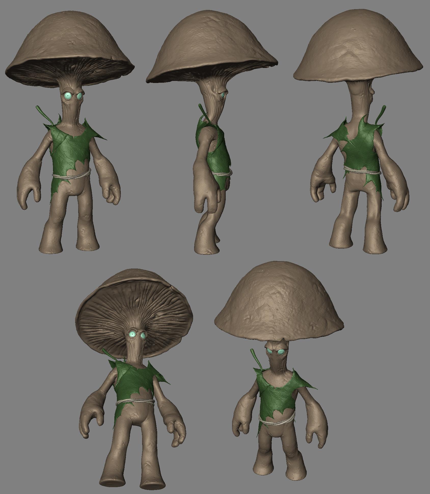 Kolby jukes mushroom man
