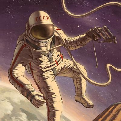 Alexey kot astronaut