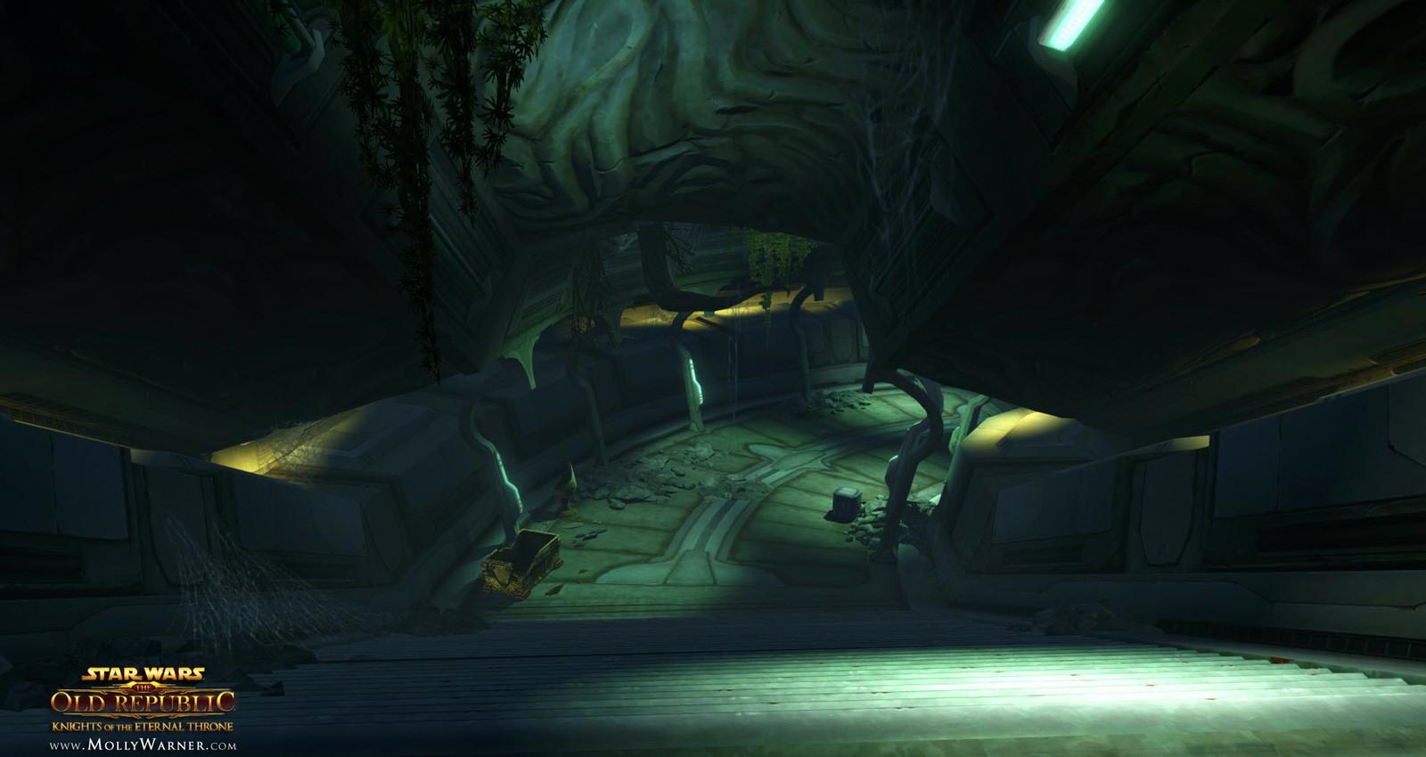 Sith Temple Catacomb Hallways