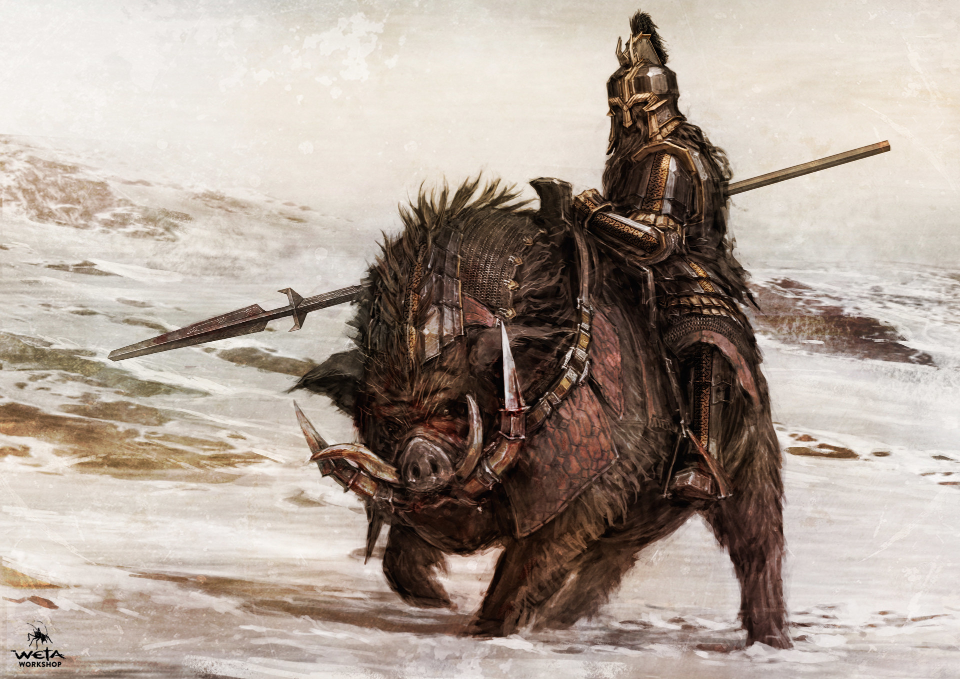 artstation the hobbit the battle of five armies dwarves weta