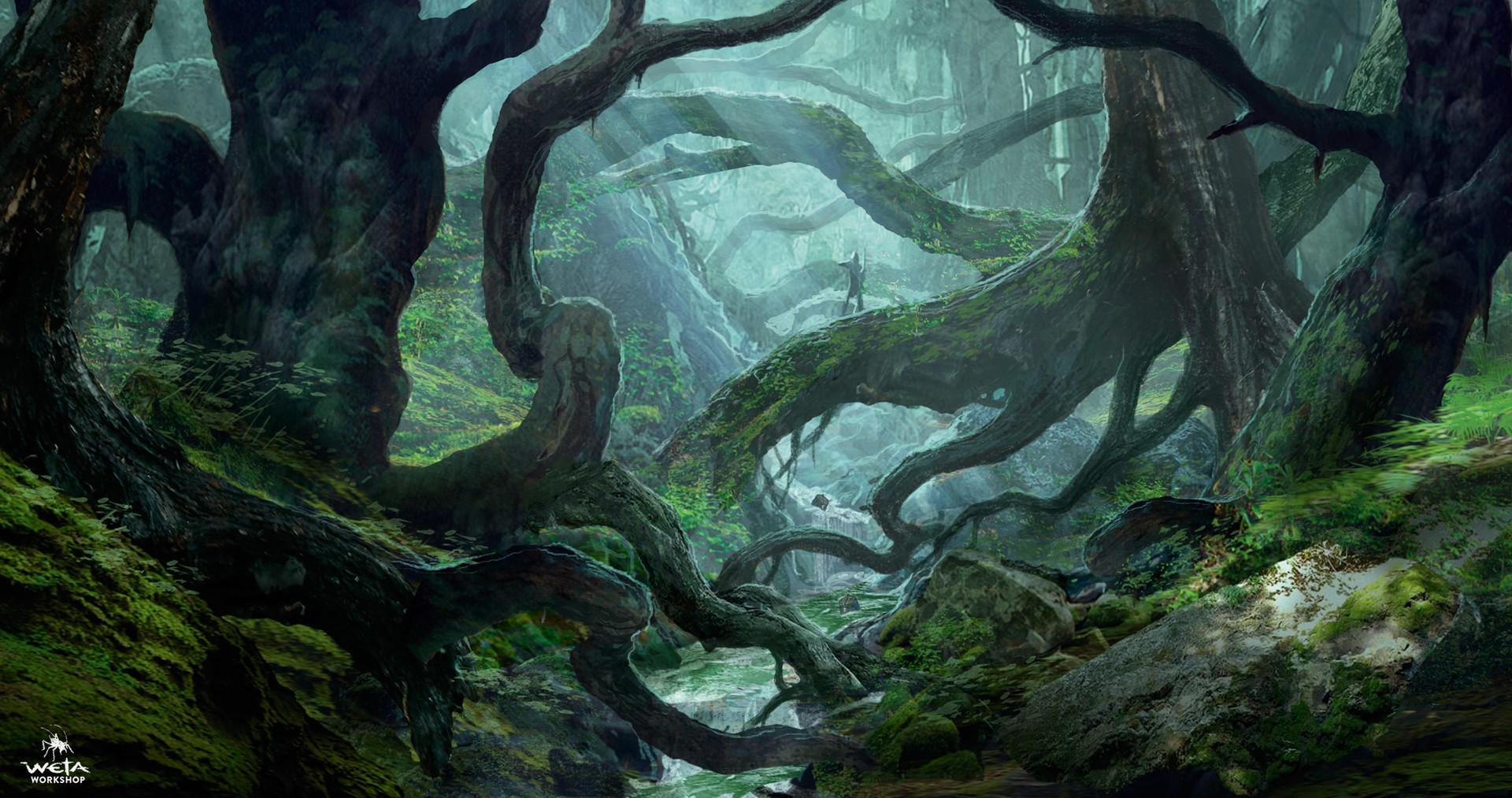 Resultado de imagen de the hobbit mirkwood forest