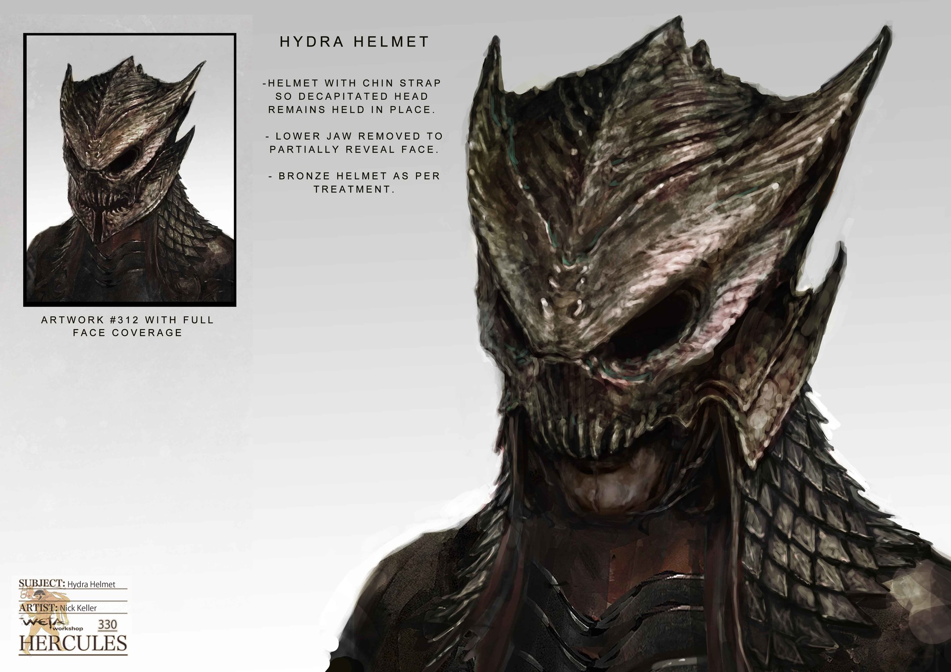 Weta workshop design studio 330 hydra helmet 04 nk
