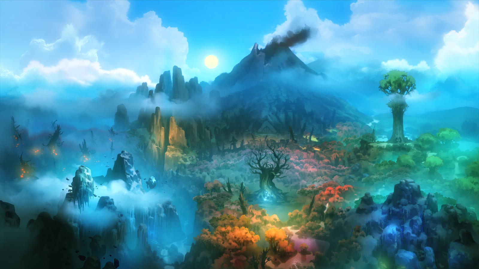 Ori and the Blind Forest Ingame Art