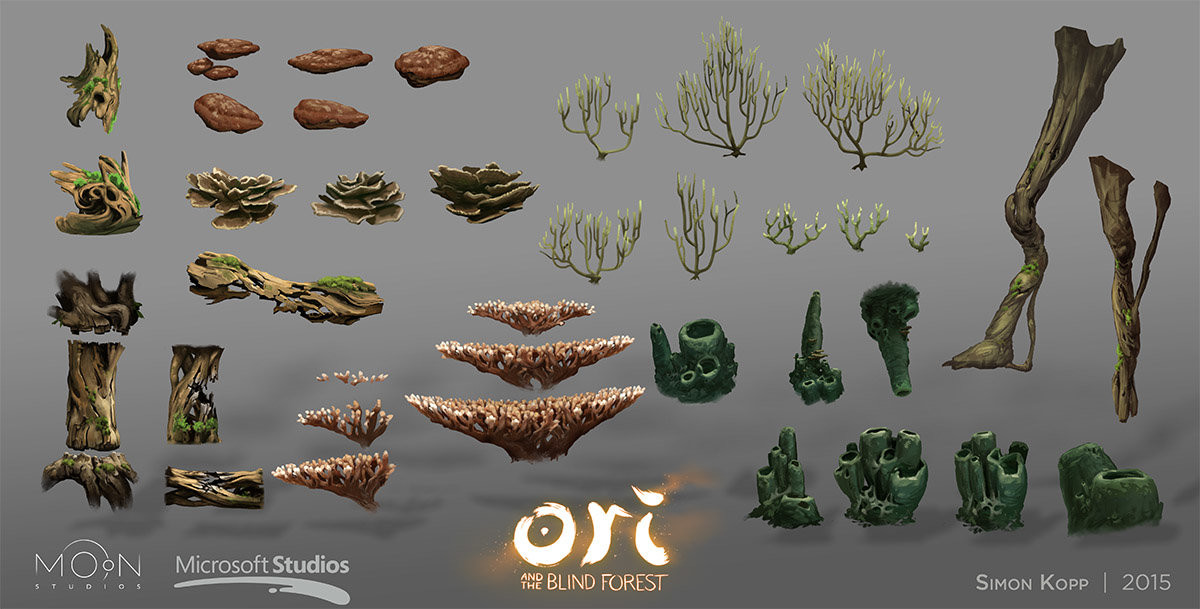 Ginso Tree assets