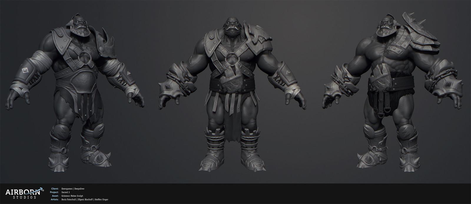 Grimmoc Melee Warrior