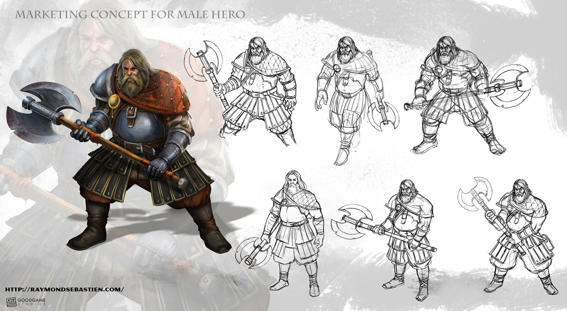 Raymond sebastien male hero 01 concept sheet by messiah972 d9xb9s6