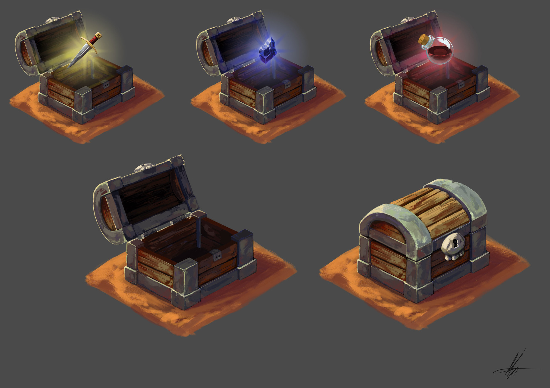 Loot Chest with Loot