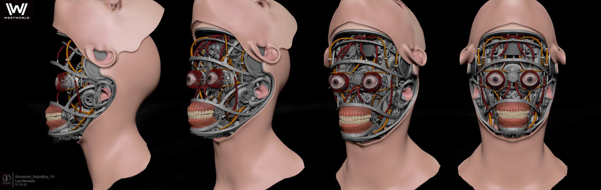 Luca Nemolato Hbo Westworld Robot Boy