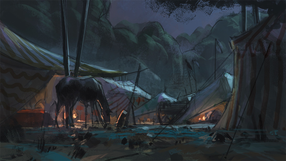 Klaus pillon camp night sketch 002
