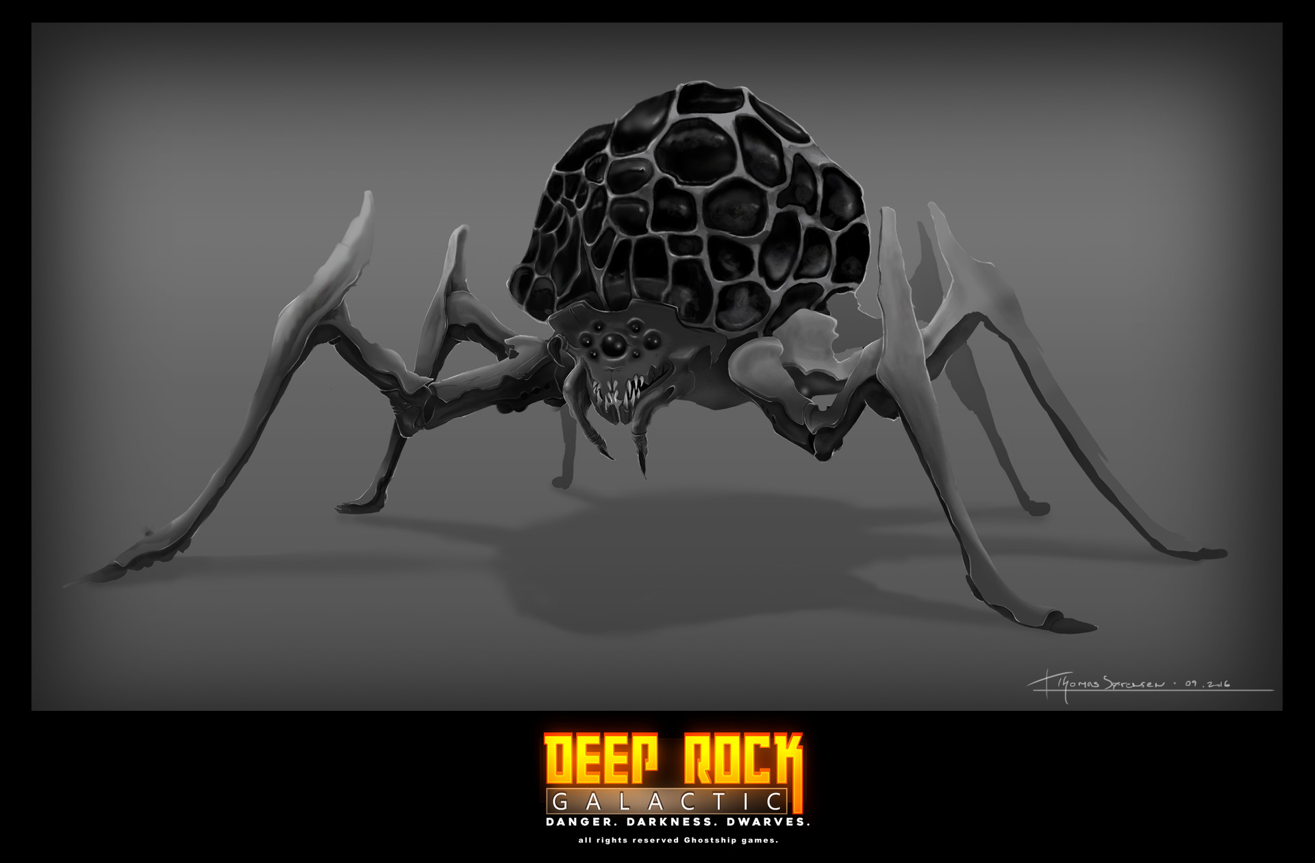 Thomas S 248 Rensen Concept Art For Deep Rock Galactic