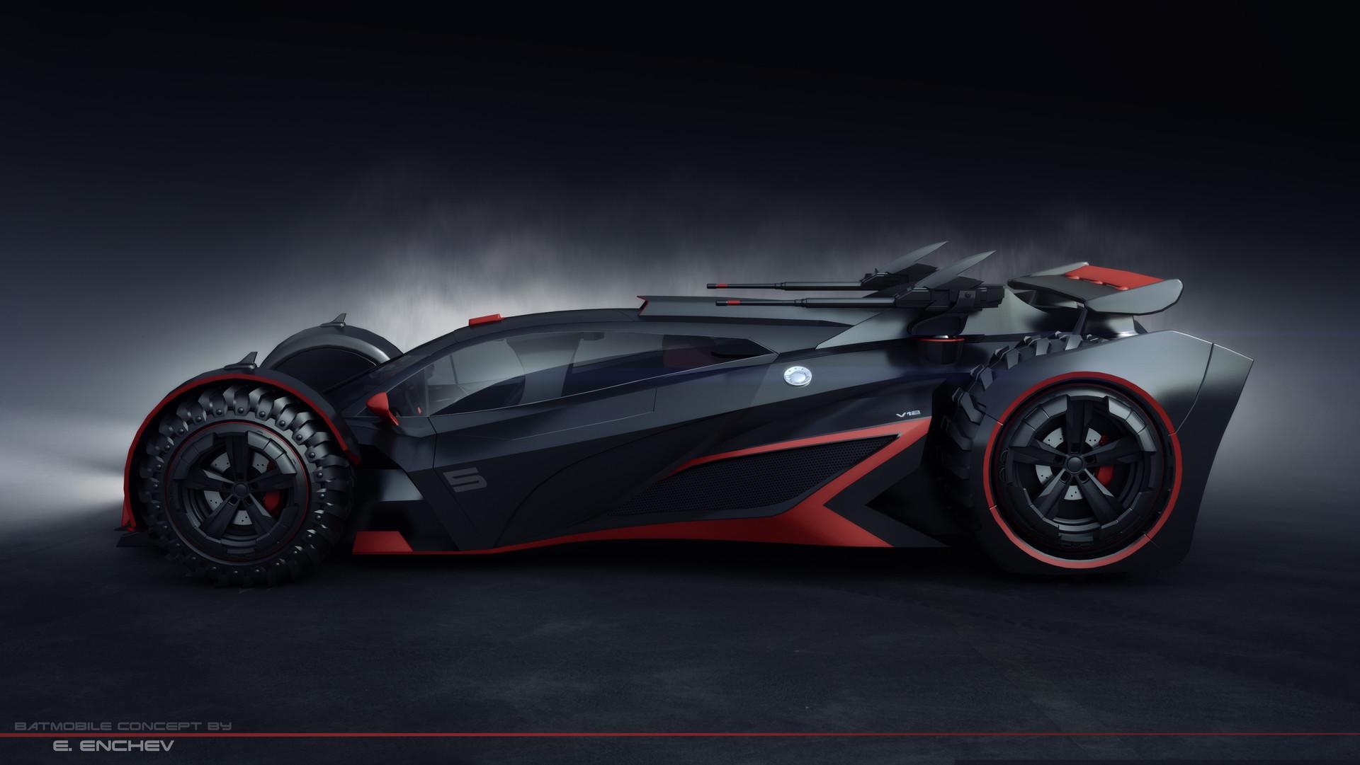 New Batmobile Car