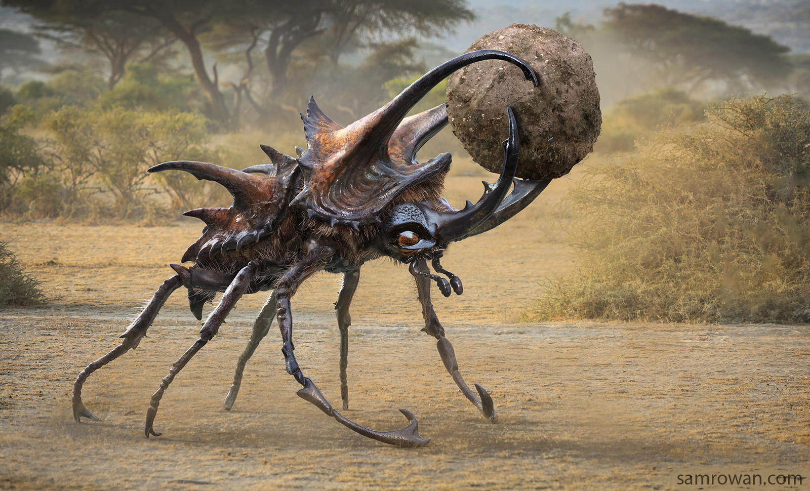 Giant dung beetle - Fantastic Beasts