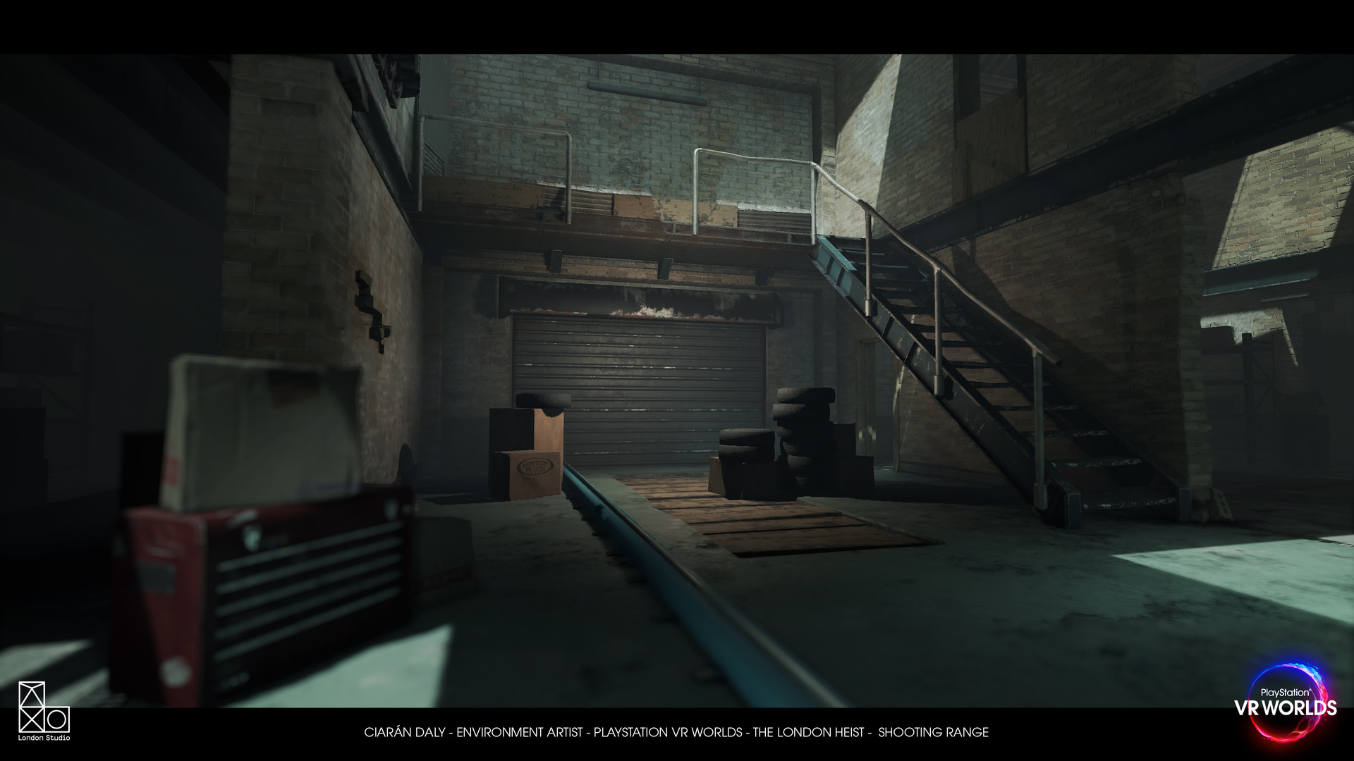 9348d87b2b09 ArtStation - PlayStation VR Worlds -  The London Heist  - Shooting ...