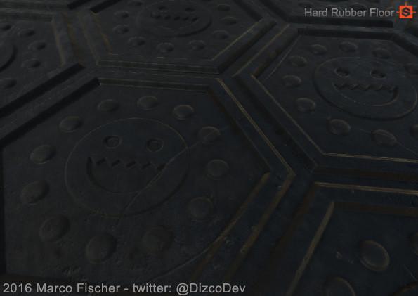 Marco fischer pc rubber floor