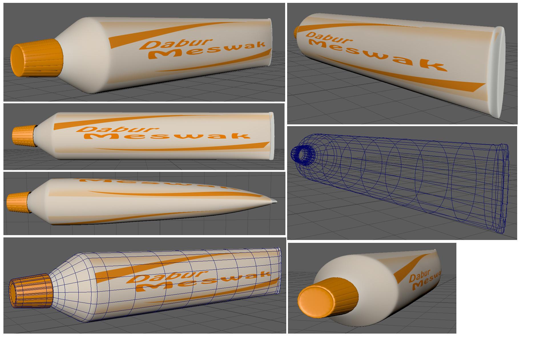 Rajesh sawant thoothpaste tube
