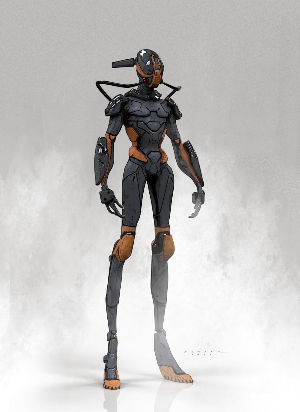 Mack sztaba humanoid