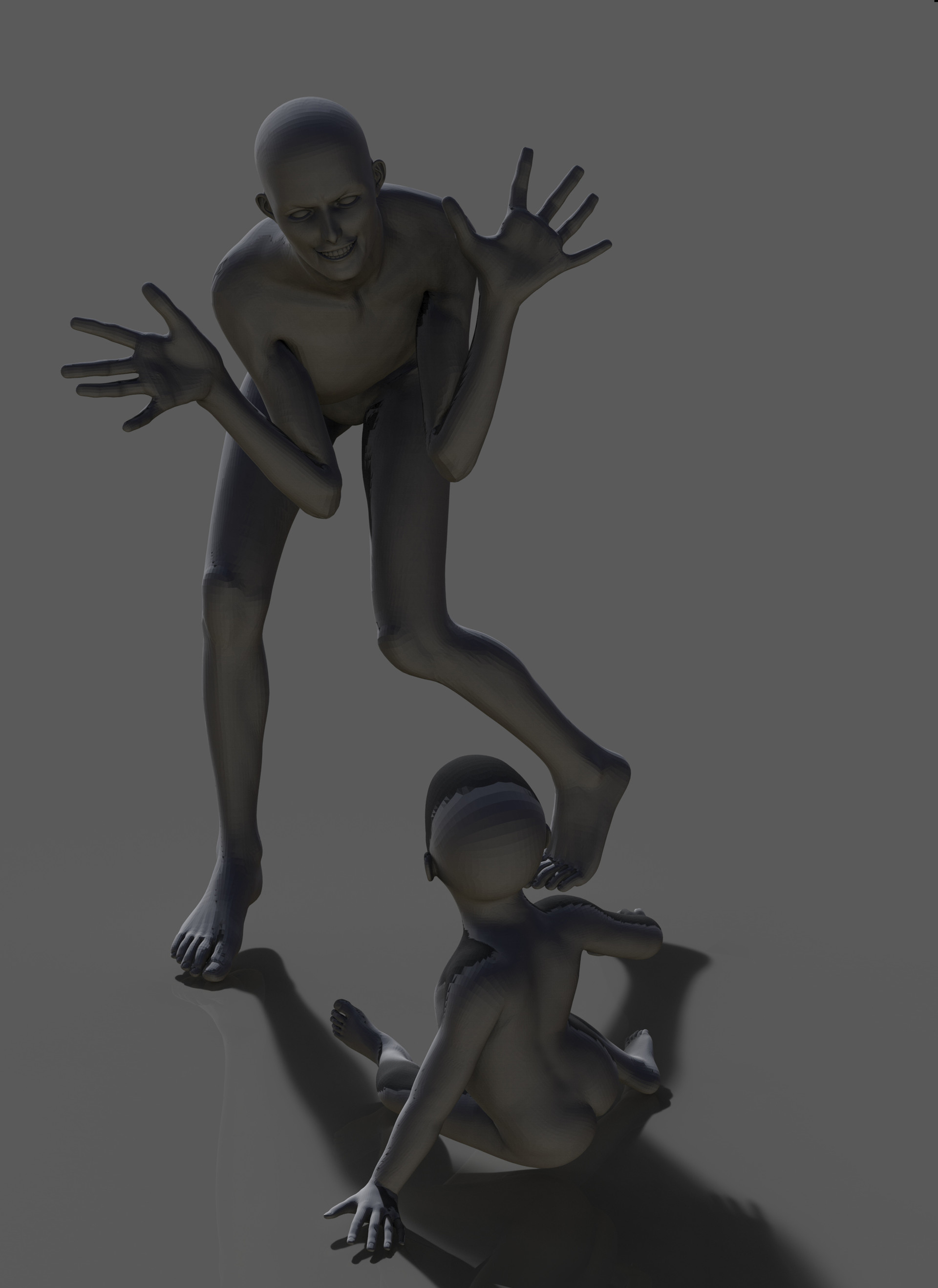 3d basic pose with DAZ