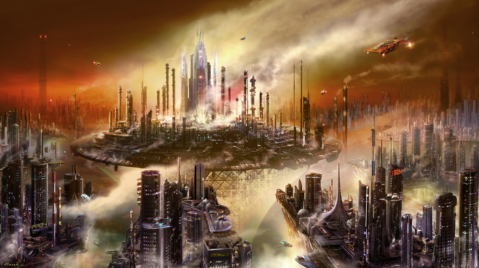 Terran Refinery city